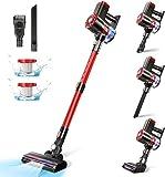 Cordless Vacuum Cleaner, 20KPa Vacuum Cleaner 4 in 1 Stick Vacuum Cleaners Upright Vacuum...