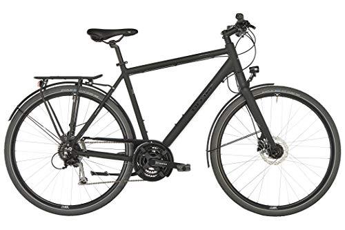 Ortler Saragossa Black matt Rahmenhöhe 60cm 2020 Trekkingrad