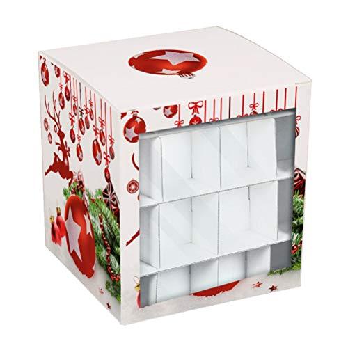 Dan&Dre Caja de almacenamiento de Navidad, decoración de vacaciones, caja organizadora para almacenamiento familiar