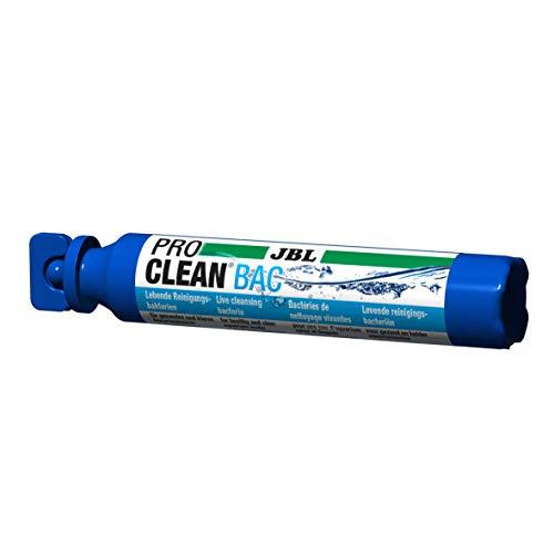 JBL PROCLEAN BAC 2302700, Lebende Reinigungsbakterien, Für 60-200 l Süßwasser, Konzentrat, 50 ml