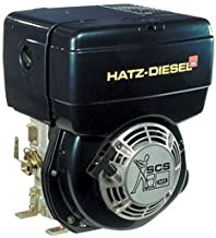 Hatz Diesel Engine with Electric Start - 9.9 HP, 1in. x 2.84in. Shaft, Model Number 1B40-9929