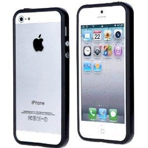 itronik® Premium Bumper Schutzhülle für Apple iPhone 5 schwarz