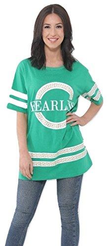 Momo&Ayat Fashions Dames Oversized 'Fearless'' Gedrukt Slogan T Shirt UK Szie 8-14