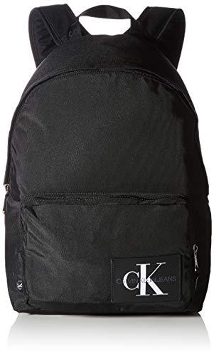 Calvin Klein Hombre Backpacks, Negro, Taglia unica