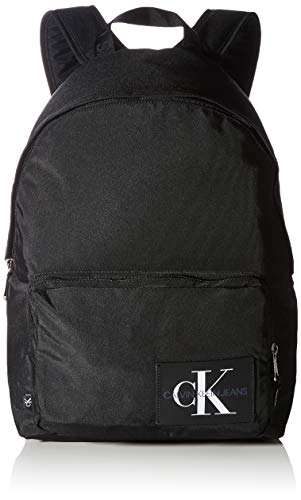 Calvin Klein Hombre Backpacks, Negro, Taglia unica