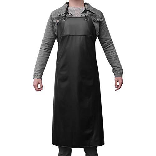 XCWQ schort werk schort zware duty waterdichte anti-olie keuken schort unisex tuin gereedschap voor slagers koken schorten