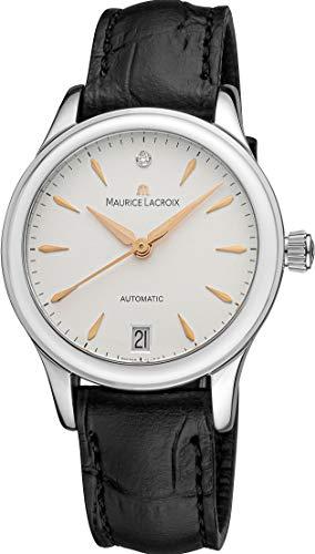 Maurice Lacroix Les Classiques Date Ladies Automatik Uhr, ML155, 28mm, Diamant