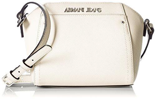 Armani Jeans Damen Umhängetasche, Handtasche, weiß, Einheitsgröße
