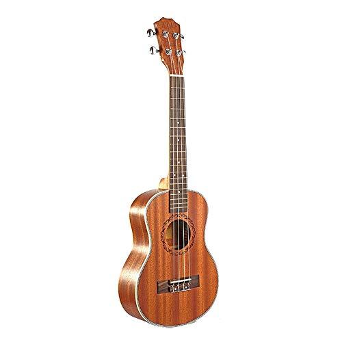 KEPOHK Ukelele acústico eléctrico tenor guitarra de 26 pulgadas 4 cuerdas guitarrista...