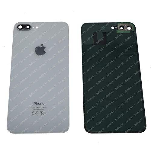 Vetro SCOCCA Posteriore Copri Batteria Back Cover iPhone 8+ 8 Plus Bianco