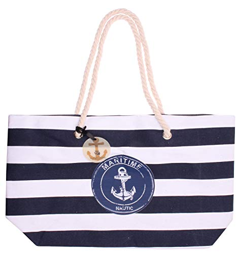 Highlight Company Strandtasche Modell: Nautic Shopper Tasche Beachbag Shopperbag...