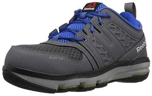 Reebok Work Men's Dmx Flex Work RB3604 Industrial and Construction Shoe, Grey, 11.5 M US