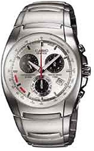 Casio Edifice Reloj de plata para hombre de acero ef510d-7av