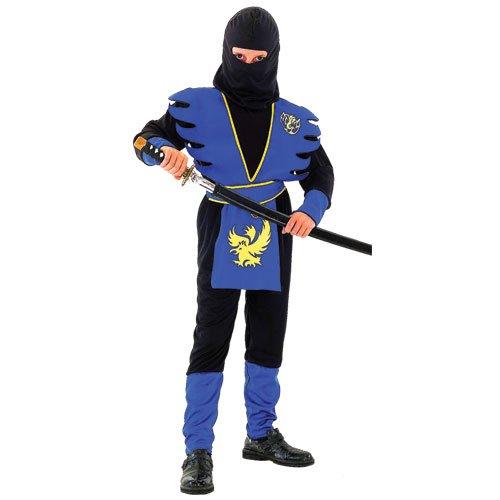 Toys Age 4-12 Boys Kids Childrens Ninja Assassin Halloween Fancy Dress Costume