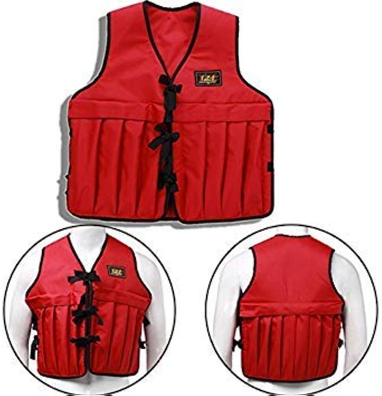GEOPONICS Men Adjustable Multi Pockets Weighted Vest et Fishing et
