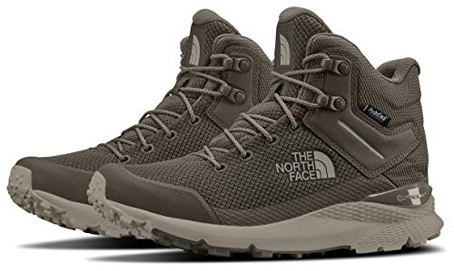 The North Face Women's Vals Mid Waterproof, Shroom Brown/Goat Beige, 8.5 M