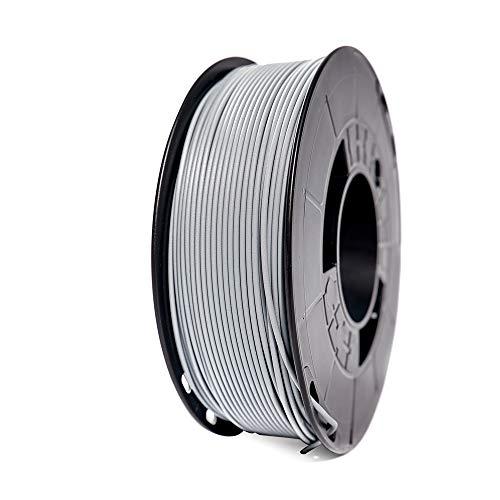 Winkle Filamento Pla 870   Pla 1.75mm   Impresión 3D   Pla 870   Filamento Impresión 3D   Ingeo 870   Color Gris Ceniza   Bobina 1000gr