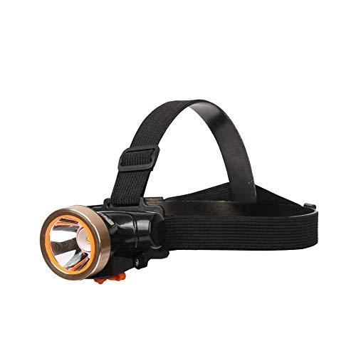 ZBQLKM Faro, luz Ultra-Brillante del LED de los Faros con luz Blanca, for Acampar al Aire Libre Ciclismo Pesca Correr