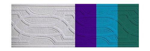 Frise décorative brevetée, couleur : blanc (prête à peindre) - N° d'article : 6001-8347