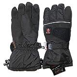 Thermrup Beheizbare Handschuhe mit 4 Stufen Temperaturregler, wasserabweichend atmungsaktive mit Thinsulate 3M, Akkubetrieb (L) - 3