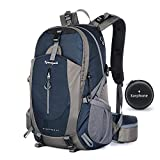 Hiking Backpack 40L Waterproof Lightweight Hiking Daypack Trekking Camping Outdoor Sport Travel Backpacks for Men Women (Royal blue)