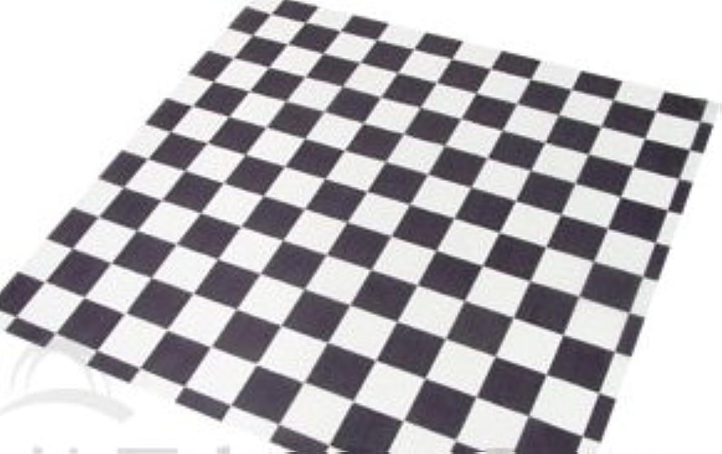 Food Grade Tissue Paper, Black & White Check