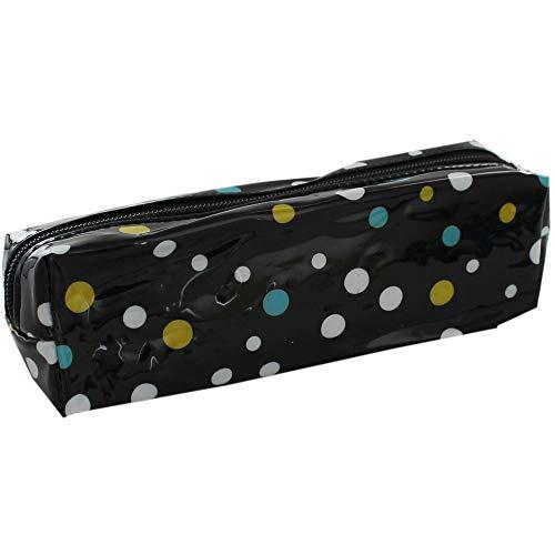 Spot Design Slim Pencil Case - Assorted