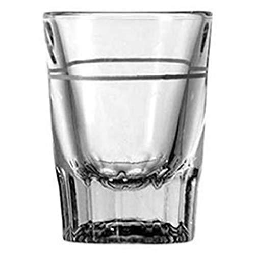(4) Shot Glasses, Shot Glass Set Complete with Liquor Pourer and Coasters. Includes - 4 Heavy Duty 2 oz. Shot Glasses,1 Liquor Pourer and 2 Exclusive Coasters by Elusive Treasures