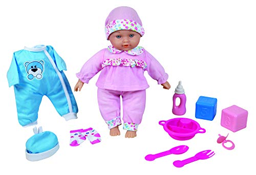 LISSI DOLLS Puppe, A1902975, Mehrfarbig