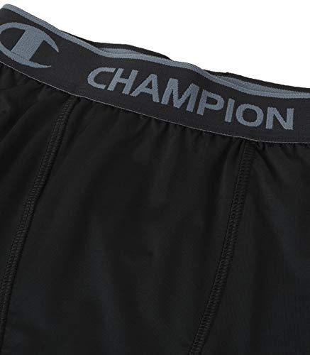 Champion Men's Powerflex 6 Compression Short, Black, XX-Large