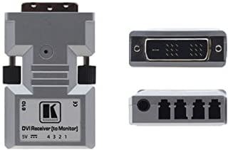 Kramer 610R/US Dual-Link DVI over Optical Fiber Extender (Receiver) (1312ft)