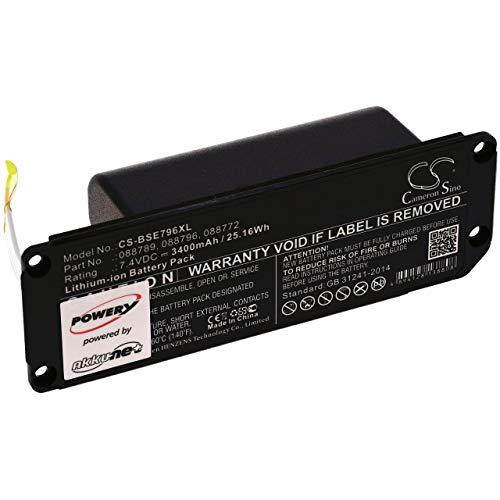 XXL-Akku für Lautsprecher Bose Soundlink Mini 2, 7,4V, Li-Ion