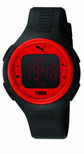 Puma Time Active Herrenuhr PULS BLACK RED A.PU910541002
