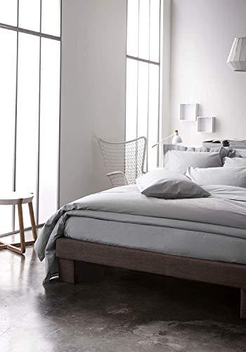 Today Drap Housse Jersey - 100% Coton - Zinc - 90x190 cm