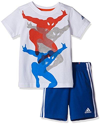 adidas Spiderman Baby Shirt und Short im Set für Kinder, Kinder Größen:104