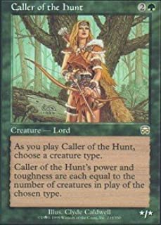 Magic: the Gathering - Caller of the Hunt - Mercadian Masques - Foil