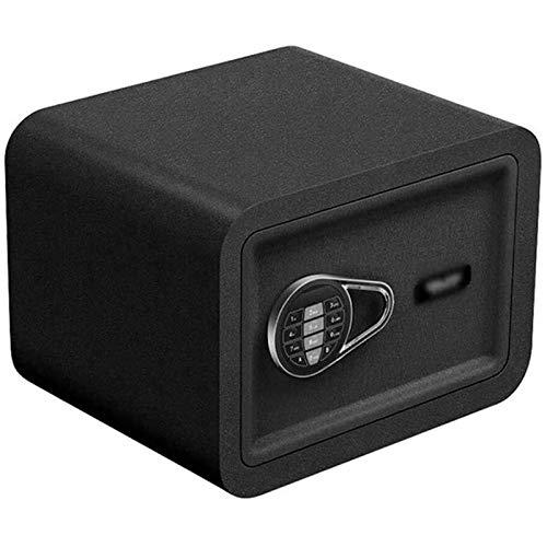 WSMLA Caja de seguridad antirrobo electrónica de Deluxe, indicadores de luz LED, pernos de bloqueo de acero de 22 mm Oficina a prueba de fuego Oficina de oficina Caja fuerte Caja fuerte