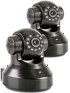 eWINNER 2 Pcs Security Camera, Baby Monitor - Sricam 720P HD Surveillance IP/Network Security Camera, Motion Detection, Ni...