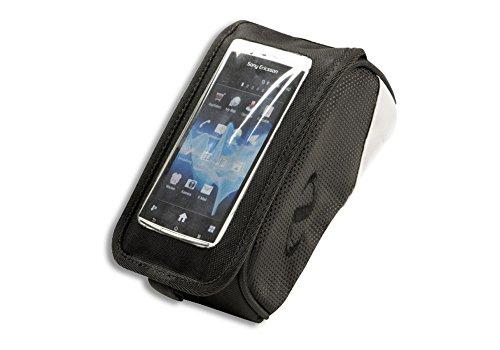 Norco Unisex– Erwachsene Fahrradtasche Boston Smartphone Tasche, schwarz, 8x11x19cm