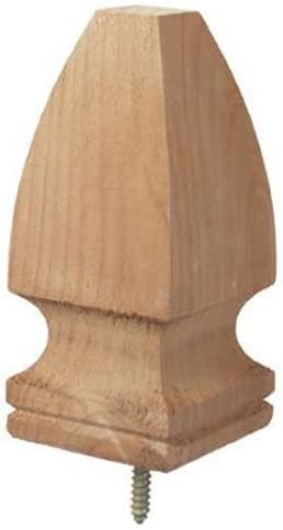 lowest Universal Forest Products 106515 Gothic Post discount Top wholesale Pack of 3 outlet sale
