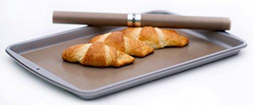 COOKINA Cuisine & ParchAluminum Lot de feuilles de cuisson antiadhésives - 12