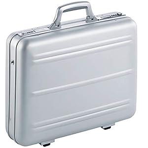 Aktenkoffer Notebookkoffer Alu Aluminium Silber Mit Zahlenschloss Bis 17 Zoll
