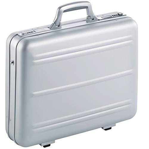Aktenkoffer Notebookkoffer Aluminium Mit Zahlenschloss Bis 17 Zoll Alu Silber