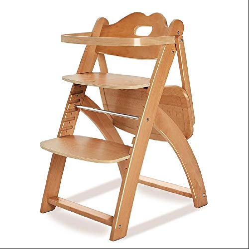 YEXIN Baby-Holzstuhl, Klassische Kleinkind Dining Chair, Cafeteria High Chair, komfortabel und sicher Kindersitz, stapelbare