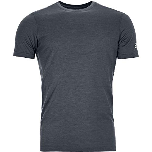 ORTOVOX Herren 150 Cool Clean T-Shirt, Black Steel, L