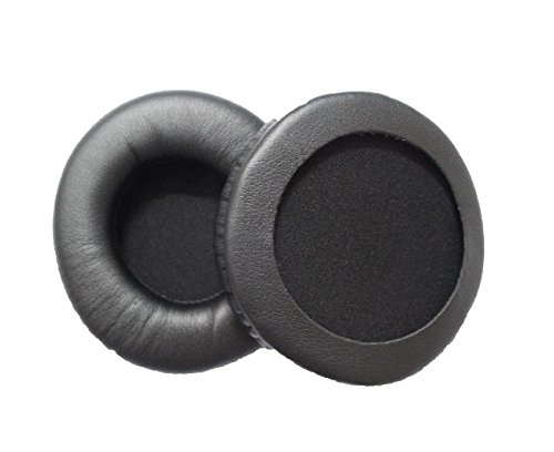 JHGJ Replacement Ear Pads Pad Cushion for JVC HARX500 Headphones (DS7000 CD370)