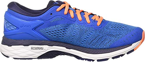 Asics Herren Gel-Kayano 24 Laufschuhe, Blau (Directoire Blue/peacoat/hot Orange), 41.5 EU
