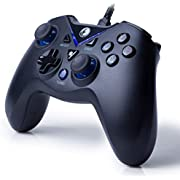 IFYOO V-one 有線USB接続ゲームパッド [PCコンピューターWindows 10/8/7/XP,Steam & Android & PS3]対応コントローラー - [ブルー色]