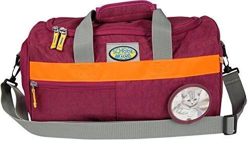 SCHOOL-MOOD Sporttasche, Katze 91701 viola