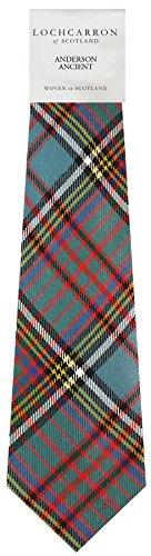 I Luv Ltd Gents Neck Tie Anderson Ancient Tartan Lightweight Scottish Clan Tie